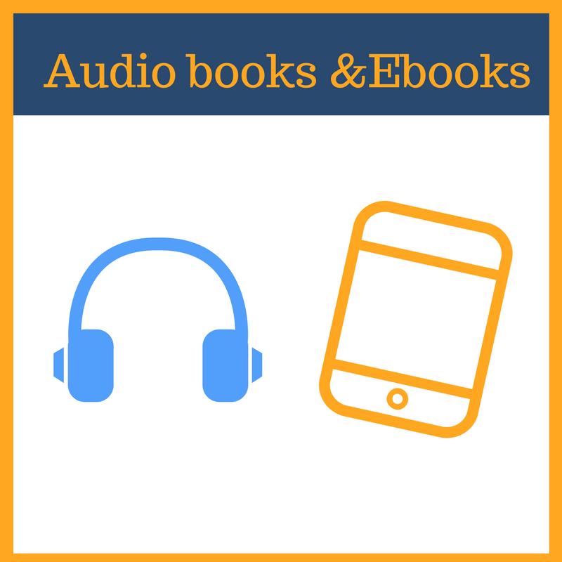 Audio Books and Ebooks