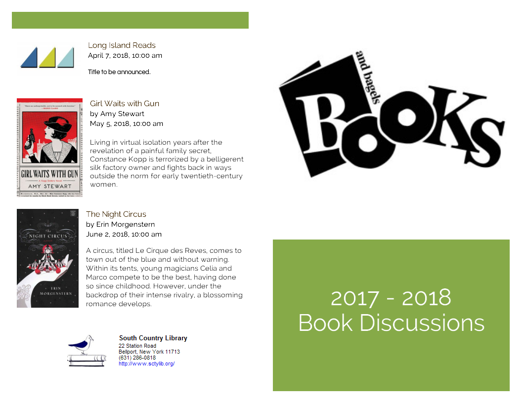 book discussion brochure