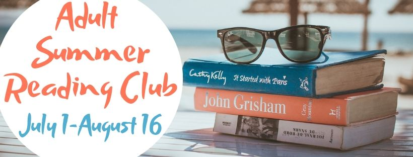 Adult Summer Reading Club Banner
